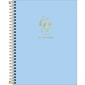 Planner Tilibra HAPPY DAY AZUL 2020 177x240mm
