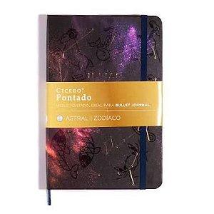 Caderneta Ideias Astral - Zodíaco - pontado
