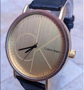 Relógio Calvin Klein Pulseira de Couro