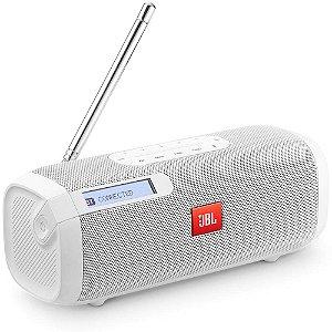 CAIXA DE SOM JBL COM BLUETOOTH BRANCA TUNER FM WHT BR