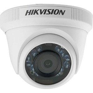 CÂMERA HIK VISION MINI DOME IR 20 720P TVI PLASTICO DS-2CE56C0T-IRP-2.8MM