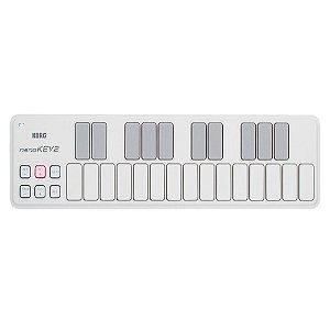 CONTROLADOR KORG USB MIDI NANOKEY2-WH