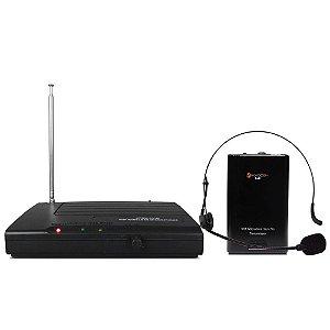 MICROFONE KADOSH SEM FIO VHF HEADSET KDSW 231H