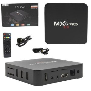 SMART TV BOX 2G + 16G QUAD CORE 4K ANDROID 7.1 MXQ-4K