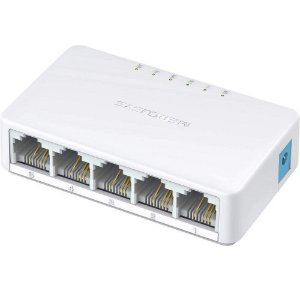 SWITCH 5 PORTAS 10/100MBPS MERCUSYS MS105