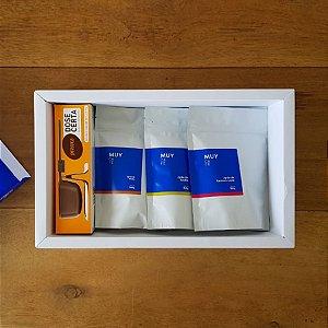 Box Tri Dose Certa com 3 grãos 150g cada + balança de precisão