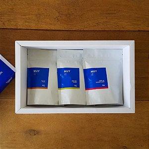 Box Tri Sensorial com 3 grãos 150g cada