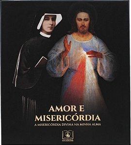 BOX AMOR E MISERICÓRDIA: Diário de Santa Faustina e mais quatro ítens (Capa Flexível)
