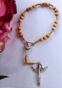 Terço da Rainha da Paz - 7 Pater - Marfim Lisa