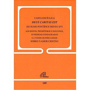 Livro Carta Encíclica Deus Caritas Est - Bento XVI