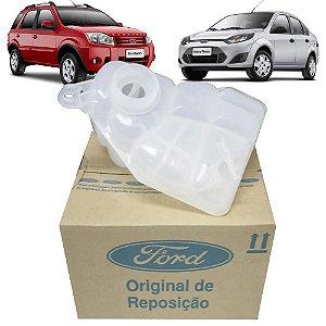 Reservatório De Expansão Água Do Radiador Original Ford 8S658K218BA Fiesta E Ecosport Zetec Rocam De 2002 Até 2014