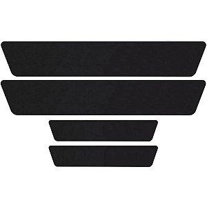 Jogo Adesivo Poroso Universal Colar Embaixo Da Soleira Ou Proteção Preto Black