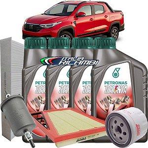Kit Revisão Troca De Oleo 0w20 Selenia K Forward E FIltros Completo Fiat Nova Strada 1.3 Firefly 2020 2021 2022