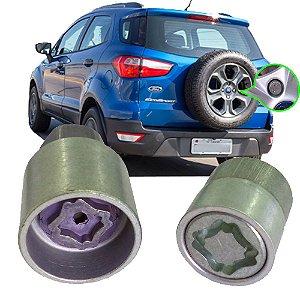 Antifurto Roda De Estepe Ford Ecosport 2007 2008 2009 2010 2011 2012 2013 2014 2015 2016 2017 2018 2019 2020