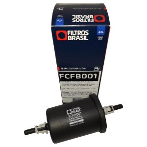 Filtro De Combustível Filtros Brasil FCFB001 - Ford Fiat Jeep Chevrolet Honda Cherry Toyota Mitsubishi Jaguar