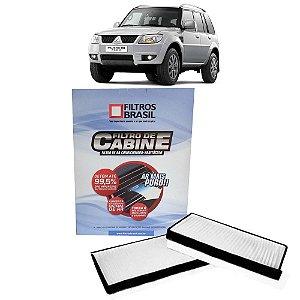 Filtro De Cabine Filtros Brasil FB520 - Mitsubishi Pajero TR4 Flex e Gasolina de 2003 Em Diante