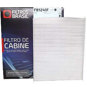Filtro De Cabine Filtros Brasil FB1241F - Volkswagen Novo Polo T-Cross E Virtus 1.0 12V 1.4 16V E 1.6 16V Mpi Tsi Turbo