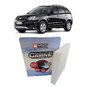Filtro De Cabine Filtros Brasil FB709 - Chevrolet Gm Captiva 2.4 Ecotec 3.0 V6 E 3.6 V6 De 2008 Em Diante