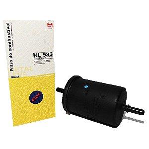 Filtro De Combustível Mahle KL583 - Kia Nissan Peugeot Citroen Volkswagen Renault Hyundai