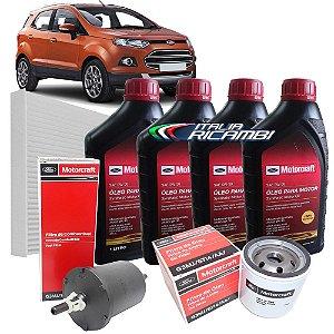 Kit revisão Ford - 20.000 km 24 meses - Ford Ecosport 1.6 16V Sigma de 2012 até 2017