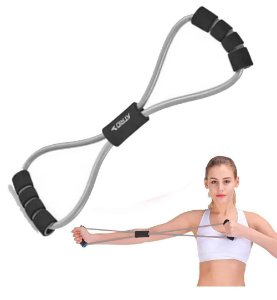 Elástico Extensor Musculação Academia Fortalecimento Fitness Funcional Treinos Aeróbicos Pilates Crossfit