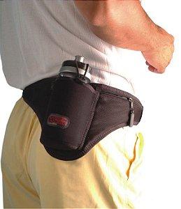 Porta Garrafa Squeeze 500 ml Para Cintura Térmica Para Caminhar Pedalar Academia Musculação