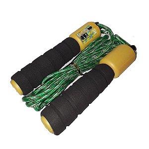 Corda de pular com contador para exercícios e condicionamento físico - Western Fit-18
