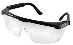 Óculos de proteção para Motoqueiros Motoboy com hastes articuláveis e com regulagem