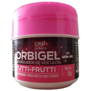 Perfume Automotivo Cheirinho Aromatizante Tutti Frutti - Orbi 55g