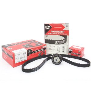 Kit correia dentada Gates KS104 - VW Crossfox Fox Gol Kombi Polo Saveiro Voyage Spacefox 2009 em diante