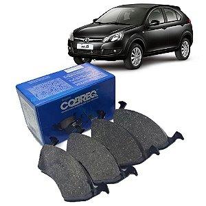 Jogo de pastilhas freio dianteiras Cobreq N1201 - JAC J3 Turin
