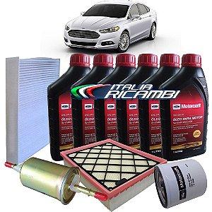 Kit revisão troca de óleo Ford Novo Fusion 2.0 e 2.5 Ecoboost Titanium