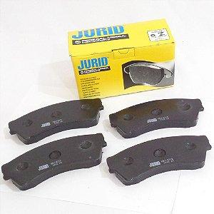 Jogo de pastilhas freio dianteiras - Ford Fusion 2.3, 2.5 e 3.0 de 2006 até 2012 - Jurid HQJ2212