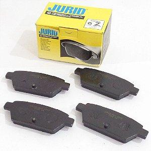 Jogo de pastilhas freio traseiras - Ford Fusion 2.3, 2.5 e 3.0 de 2006 até 2012 - Jurid HQJ2213