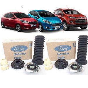 Kit completo amortecedor dianteiro esquerdo e direito - Ford New Fiesta Ecosport e Novo Ka