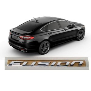 Emblema Adesivo Logotipo tampa traseira original Ford Fusion 2013 em diante - DS7Z5842528A