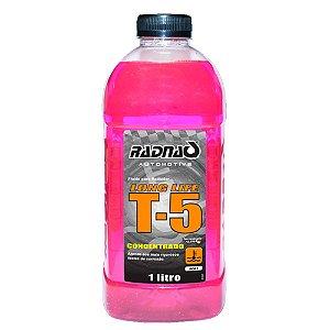 Aditivo de radiador Long Life Rosa Radnaq T-5 - Orgânico concentrado 1 litro