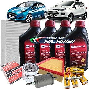Kit Revisão Ford - 80.000 km 96 meses - Ford New Fiesta 1.5 1.6 E Nova Ecosport 1.6 16V Sigma