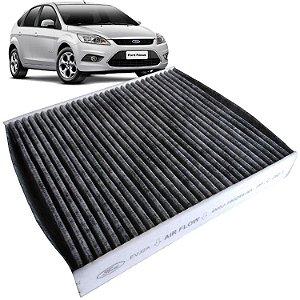 Filtro De Cabine Ar Condicionado Com Carvão Ativado Original Ford 4M5J19G244AA - Focus de 2009 até 2013