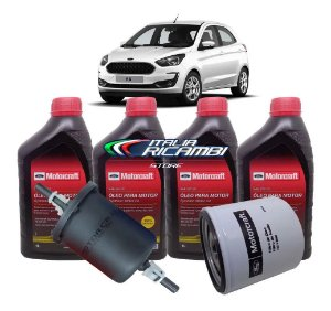 Kit 5ª Revisão 50.000 Km Ford Ka 1.5 12V 3 Cilindros Dragon 2018 2019 2020 2021