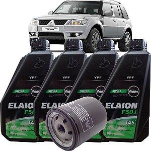 Kit Revisão Troca De Oleo 5w30 Mitsubishi Pajero Tr4 2.0 Flex 2007 até 2014