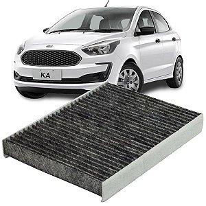 Filtro De Cabine Ar Condicionado Carvão Ativado Ford New Ka 2014 2015 2016 2017 2018 2019 2020