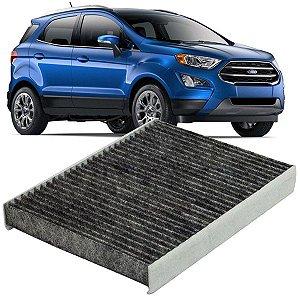 Filtro De Cabine Ar Condicionado Carvão Ativado Ford Ecosport 2013 2014 2015 2016 2017 2018 2019 2020