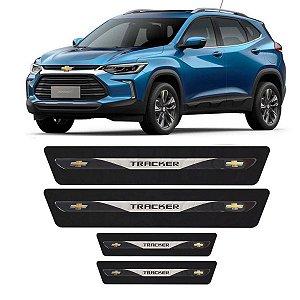 Soleira Adesivo Chevrolet Gm Tracker Lt Ltz Turbo 2015 2016 2017 2018 2019 2020 2021 2022