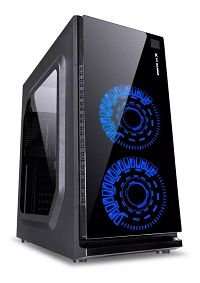 GABINETE VX GAMING CRATER 29833 LED AZUL