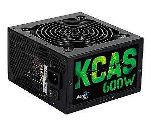 FONTE ATX 600W BRONZE AEROCOOL KCAS-600W 64802