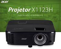 PROJETOR ACER X1123H 3600LUMENS (HDMI) ASV1715@