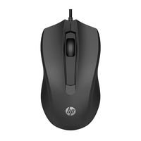MOUSE USB HP 100 PRETO 1600DPI L71742-161