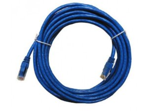 CABO REDE CAT5E 10M PLUS CABLE PC-ETHU100BL AZUL
