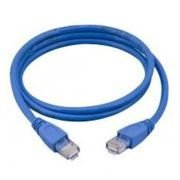 CABO REDE CAT5E 2.5M PLUS CABLE PC-ETHU25BL AZUL